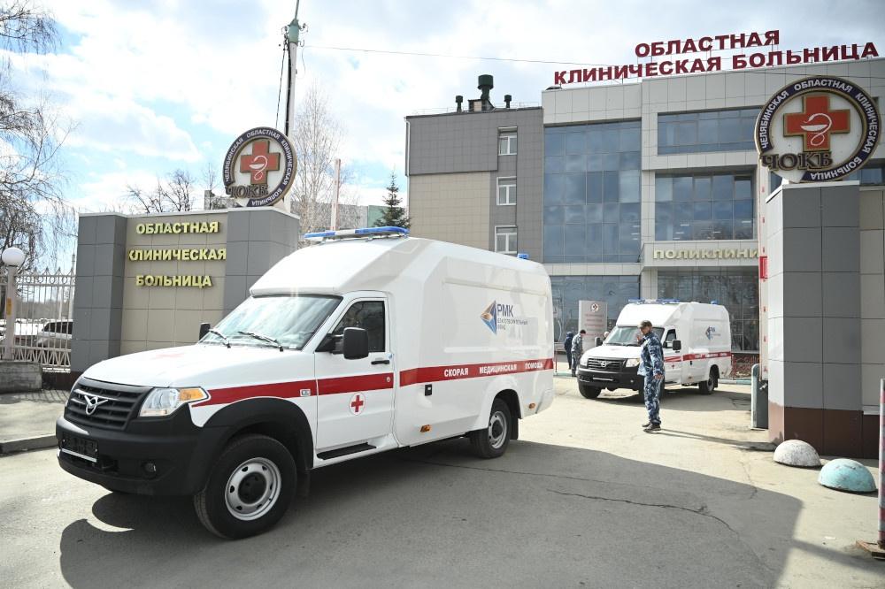 Новые скорые отправились в отдаленные города и районы Челябинской области