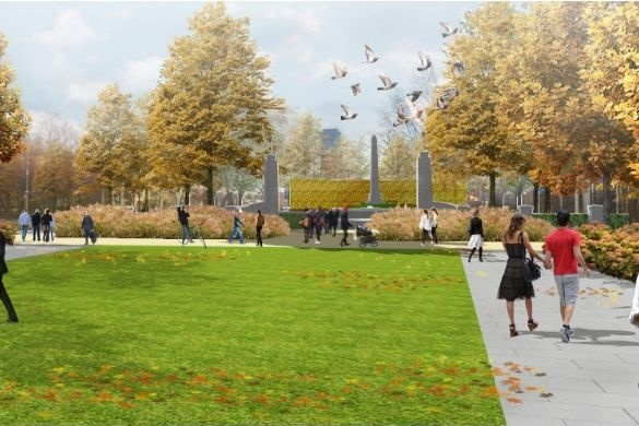 Екатеринбуржцы дополнят проект благоустройства центрального парка города