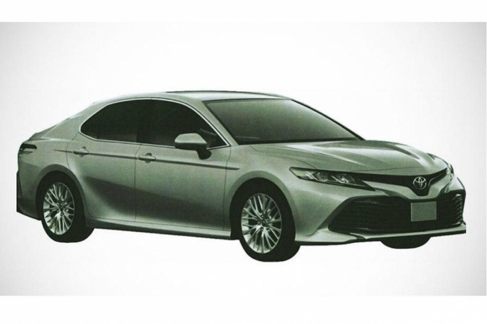 Появились первые изображения новоиспеченной Тойота Camry для рынка России