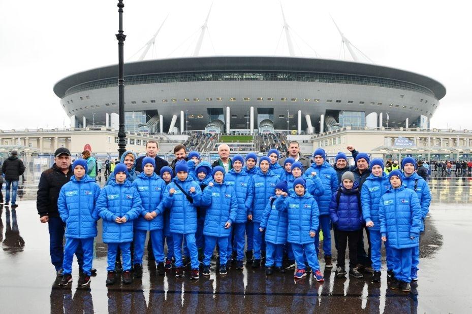 РМК отправила молодых футболистов изКарталов учиться у«Зенита»