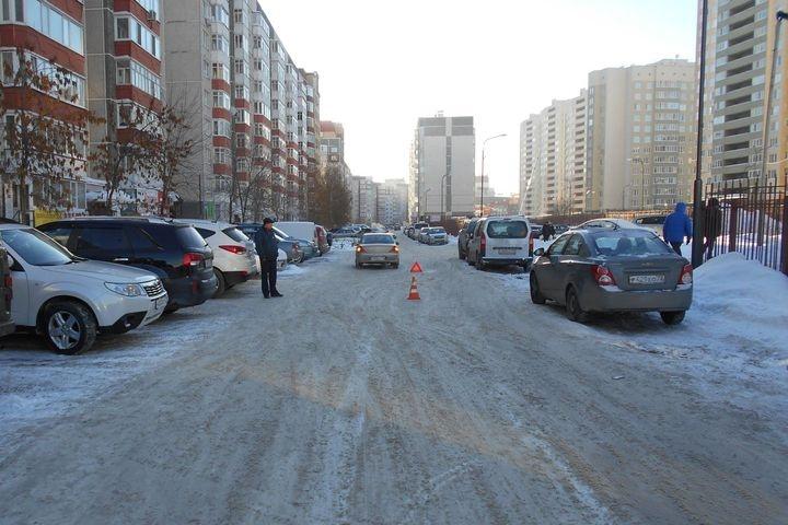 ДТП вТюмени: Автоледи наиномарке сбила на«зебре» пенсионерку