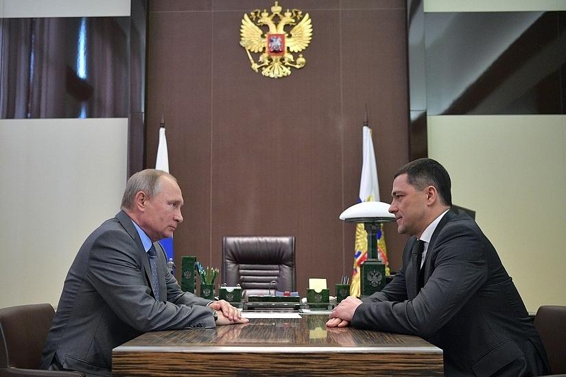 Путин сократил псковского губернатора Андрея Турчака— Уже одиннадцать