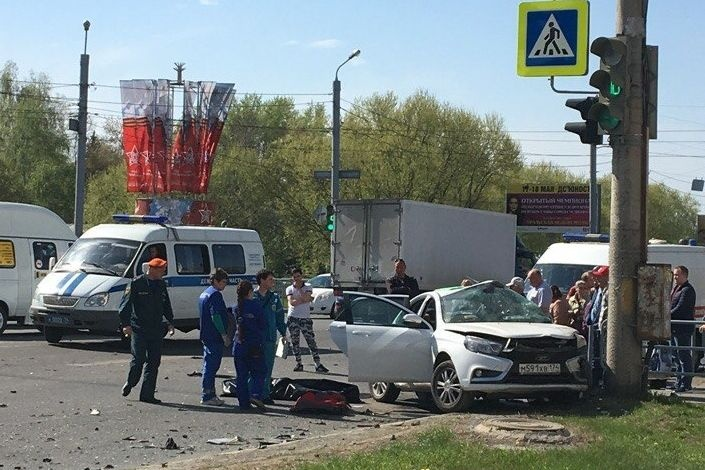 ВЧелябинске нетрезвый парень на БМВ погубил человека