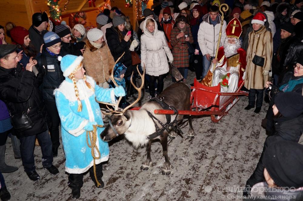 Святой Николаус, пряничные домики и германские музыканты. Екатеринбург отметит Европейское Рождество