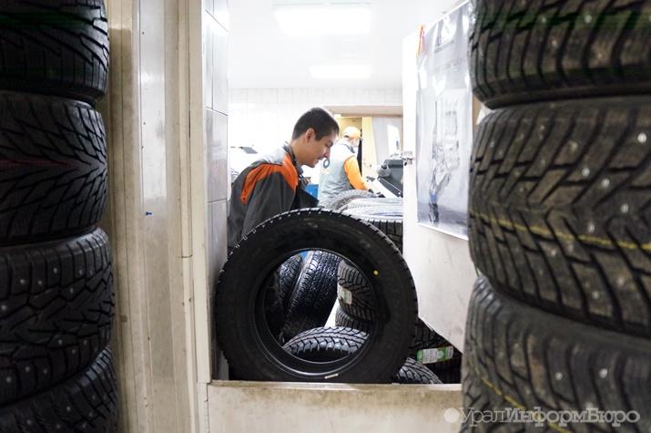 Владельцев автомобилей будут облагать штрафом заотсутствие зимней резины