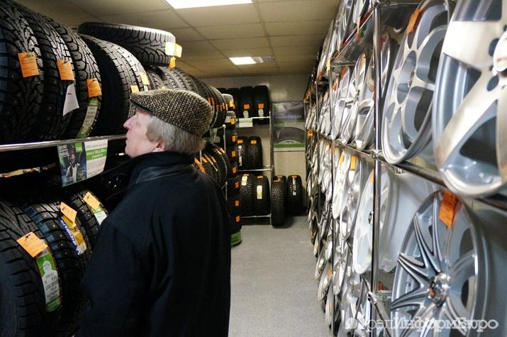 Летние шины омичам обходятся дороже, чем для остальных граждан России