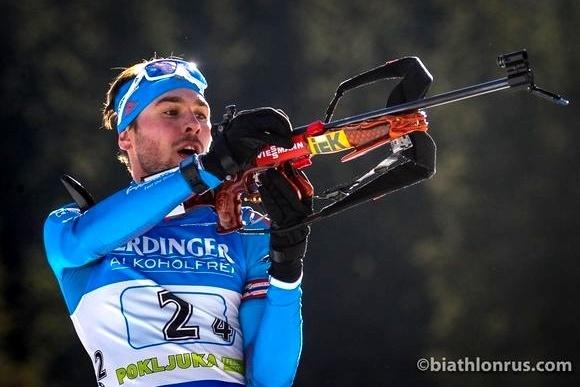 Шипулин одержал победу персональную гонку наэтапе Кубка мира побиатлону