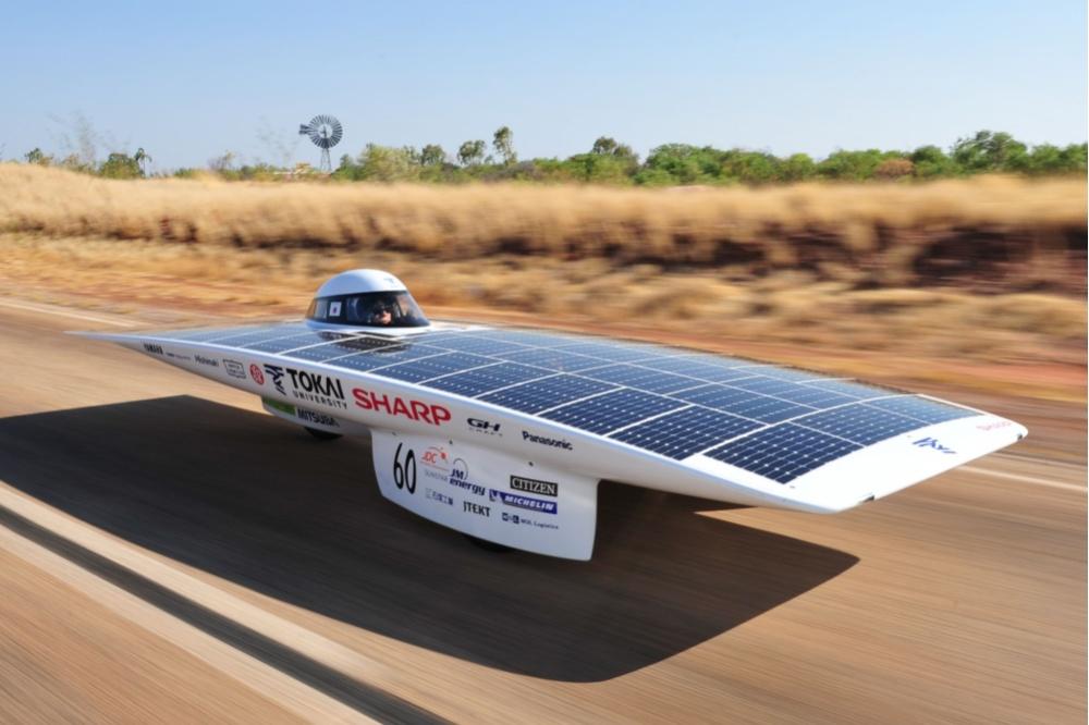 ВАвстралии устроили гонки электромобилей насолнечной энергии