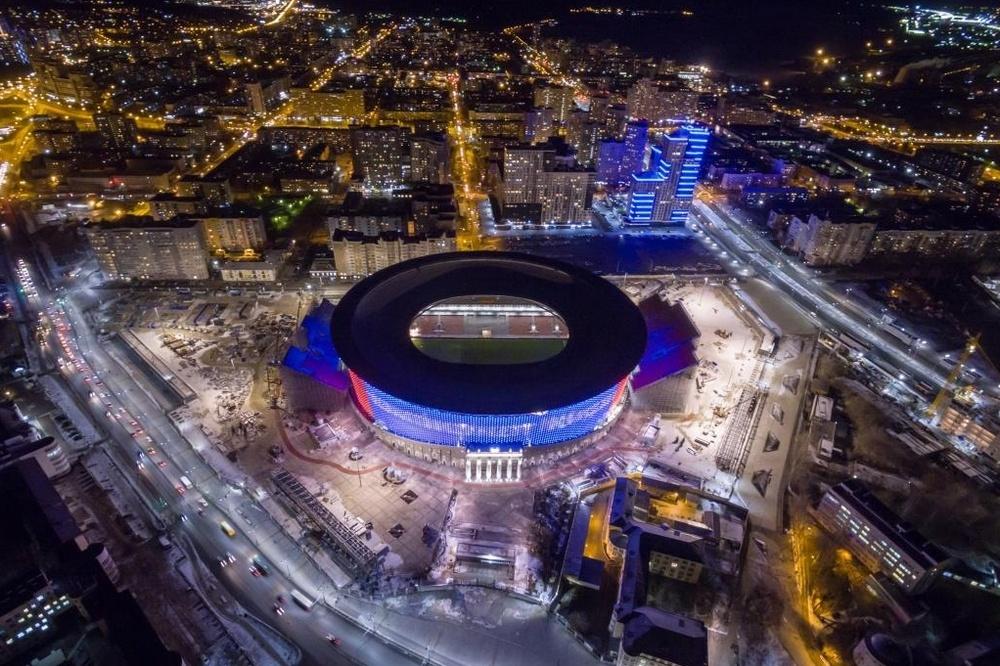 На основном стадионе для безопасности установят полторы тысячи камер