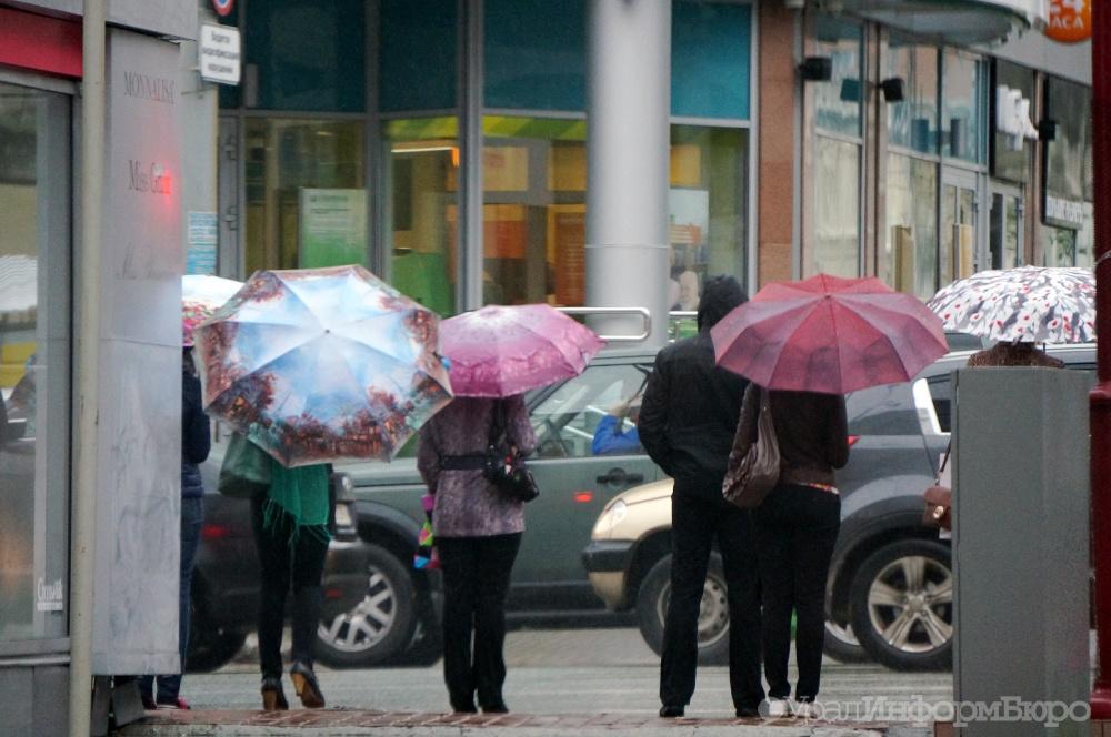 Ввыходные вСвердловской области пройдут дожди иснегопады