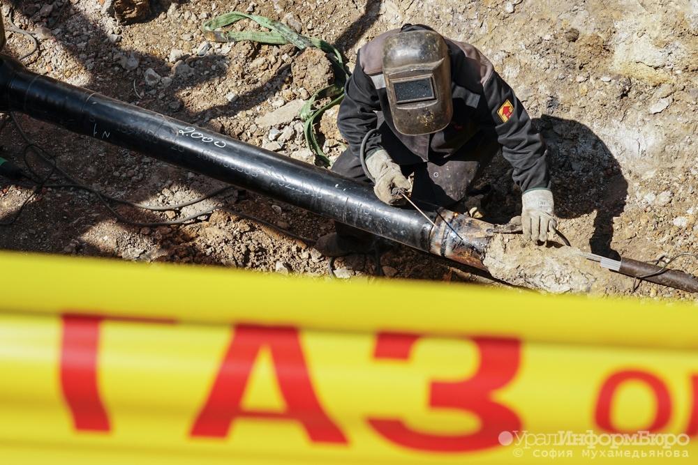 ЧПвТюмени: наоживленном перекрестке рабочие повредили газовую трубу