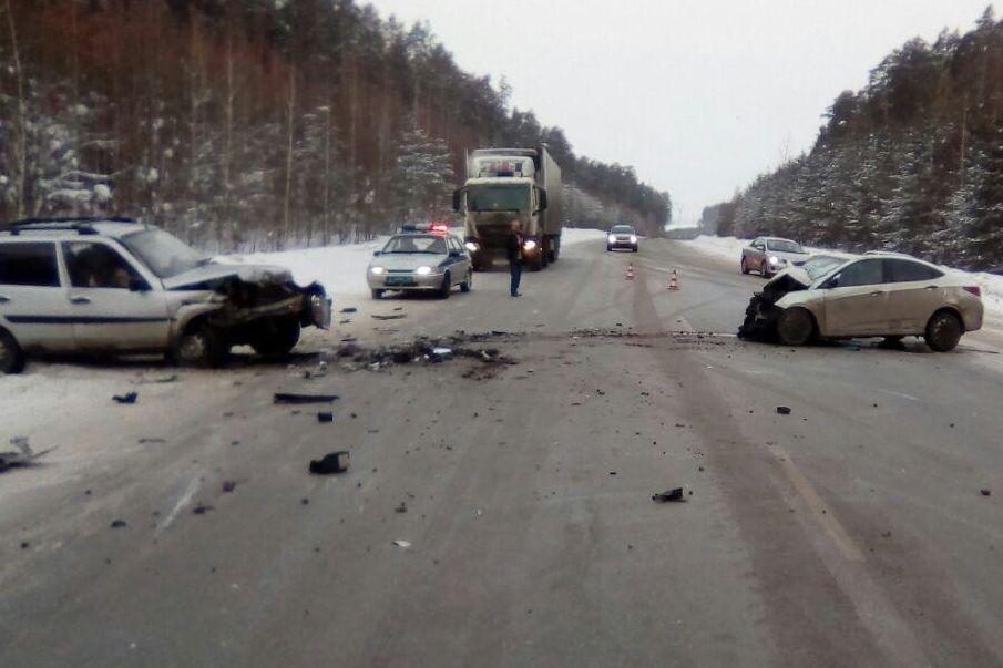 5 человек пострадали сегодня вДТП натрассе Пермь