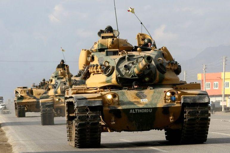 Курды атаковали группу турецких солдат впогранзоне