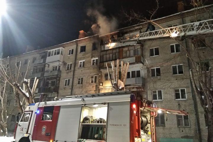 ЧПвТюмени: наулице Тульской горела квартира