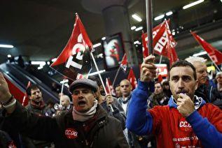 Всеобщая забастовка обошлась европейцам в десятки миллиардов евро